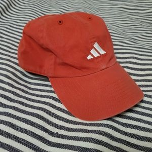 Vintage Adidas Dad Hat Baseball Cap Red